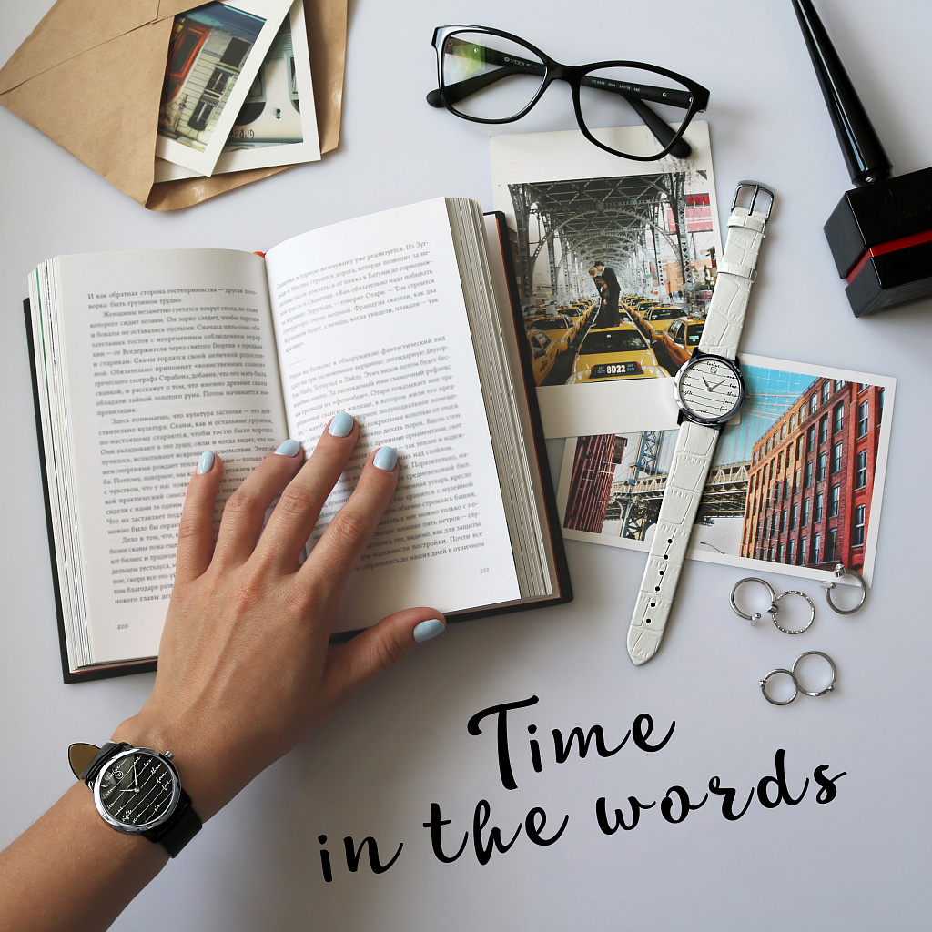 Time is in words